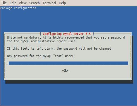 raspberry-install-mysql