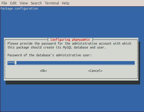raspberry-install-phpmyadmin-pass