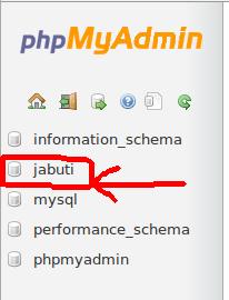 selectdatabase-jabuti